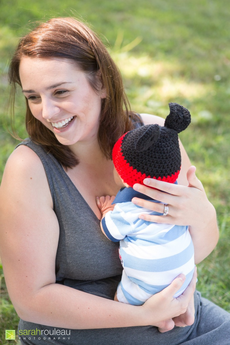 kingston wedding and family photograher - kingston newborns - sarah rouleau photography - baby logan (10)