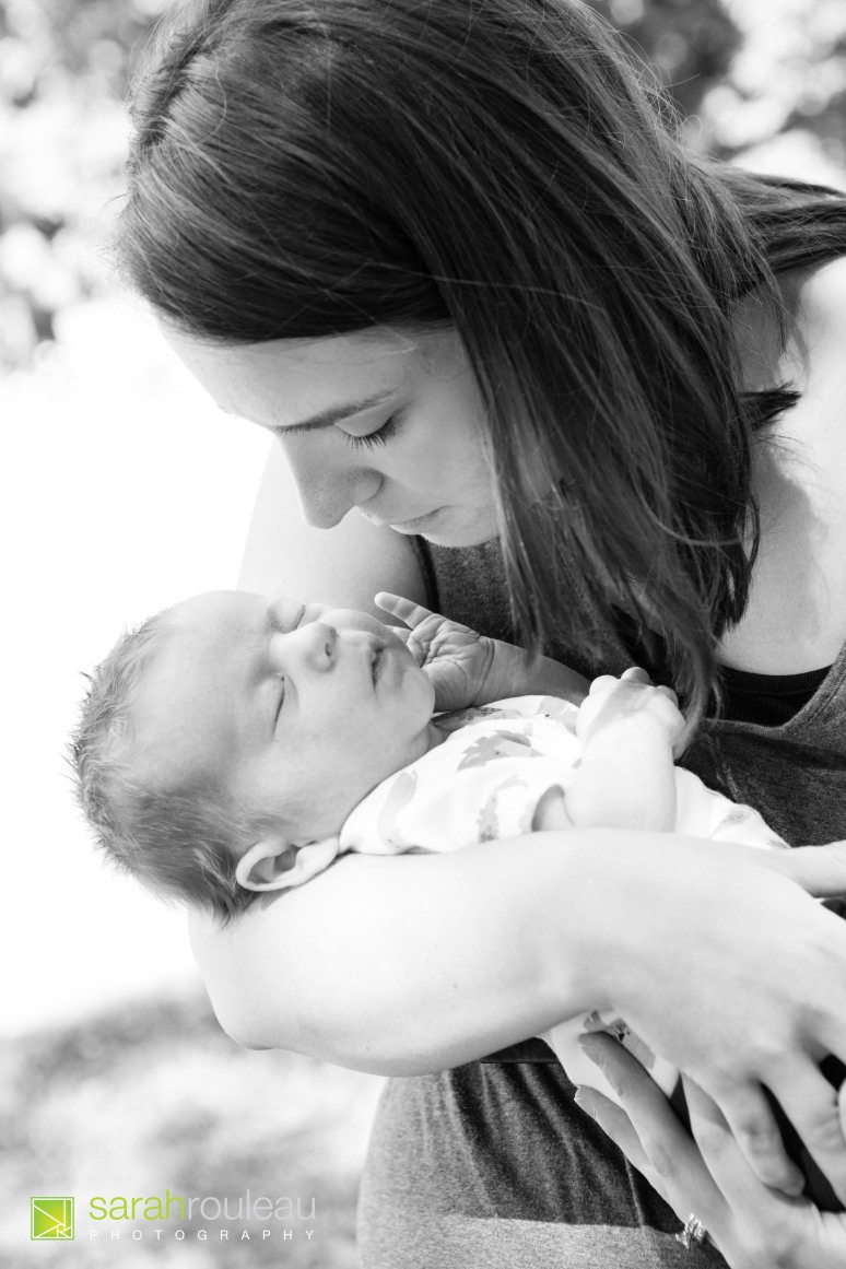 kingston wedding and family photograher - kingston newborns - sarah rouleau photography - baby logan (14)