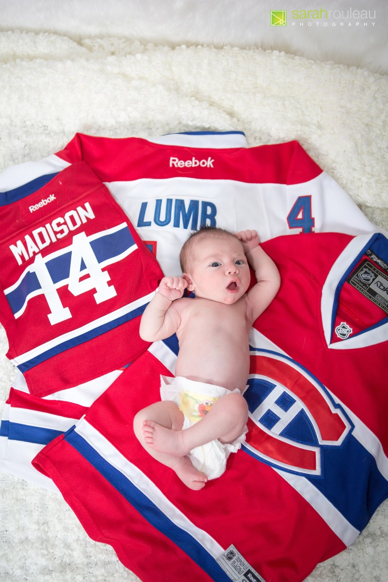 Kingston Wedding Photographer - Kingston Newborn Photographer - Sarah Rouleau Photography - Baby Madison-18