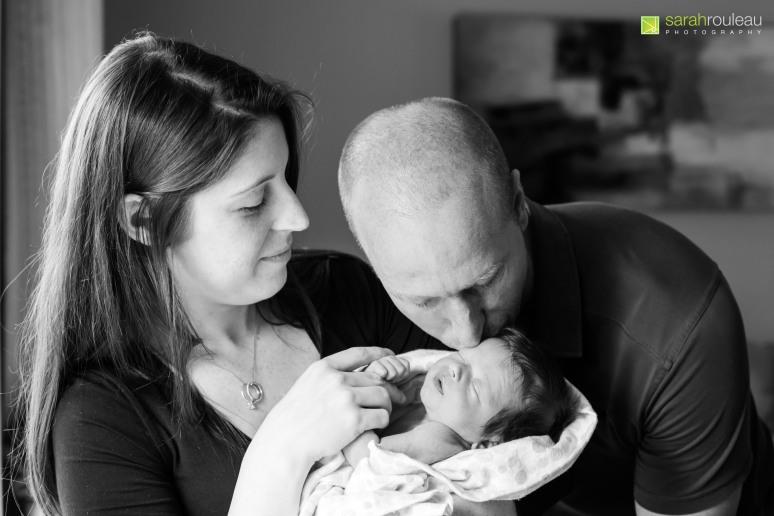 Kingston Wedding Photographer - Kingston Newborn Photographer - Sarah Rouleau Photography - Baby Hudson-20