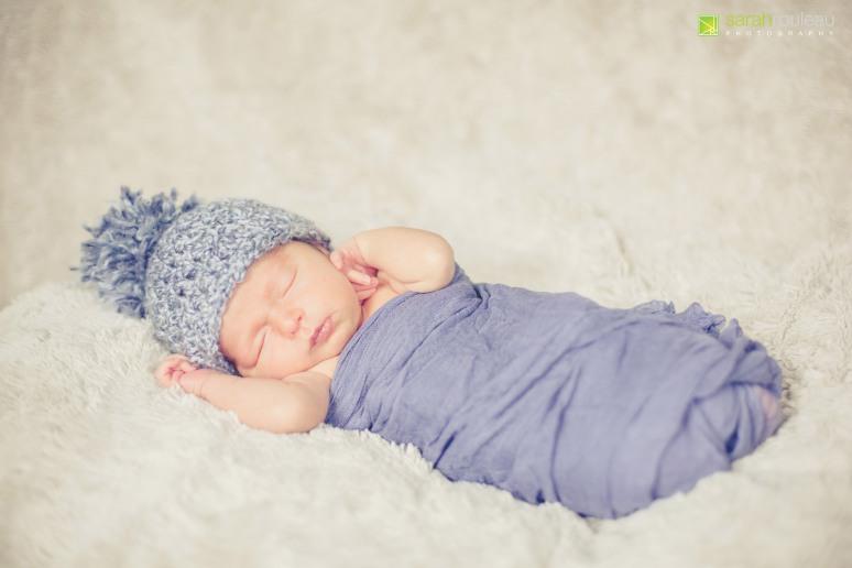 Kingston Wedding Photographer - Kingston Newborn Photographer - Sarah Rouleau Photography - Baby Hudson-9