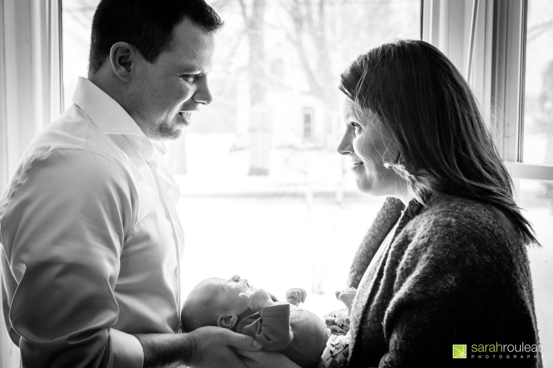 Kingston Wedding Photographer - Kingston Newborn Photographer - Sarah Rouleau Photography - Baby Lorelei-13
