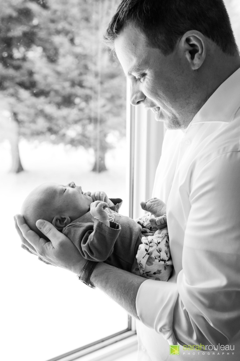 Kingston Wedding Photographer - Kingston Newborn Photographer - Sarah Rouleau Photography - Baby Lorelei-17
