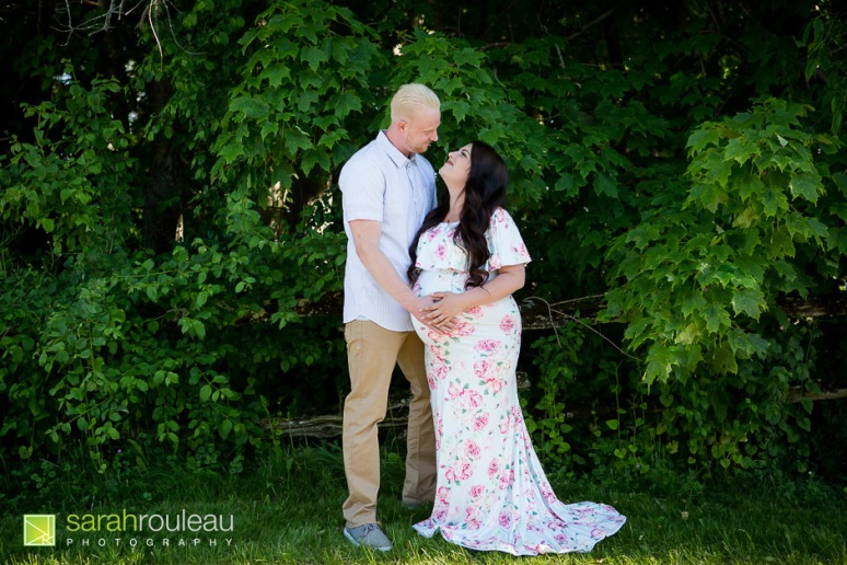 kingston maternity photographer - sarah rouleau photography - Amber and Jesse Plus One